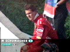 Schumacher out